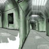 Concept Art des Tunnelgangs